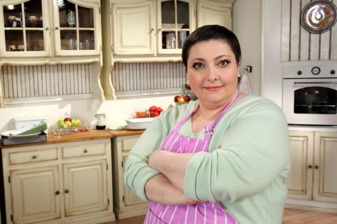 Лара Кацова в передаче «Домашняя кухня»