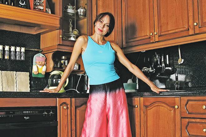 Марина Хлебникова дома