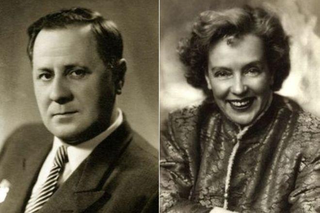 Иван Любезнов и Марина Ладынина