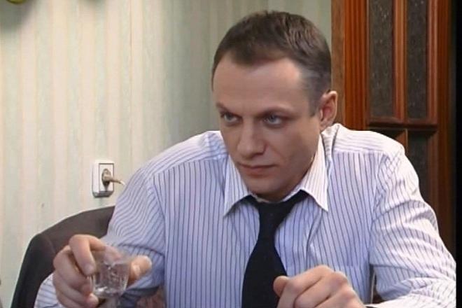 Эдуард Флеров в фильме «Слепой»