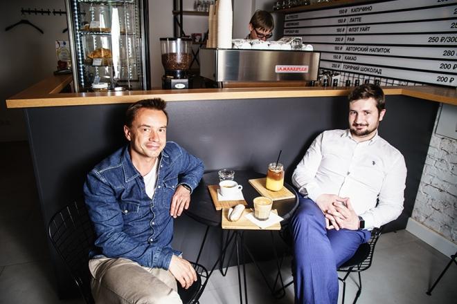 Алексей Серов, кофейня «Кофе & Moloko»
