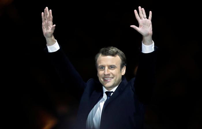 Эммануэль Макрон победил на выборах президента Франции