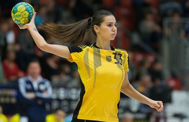 Екатерина Ильина в составе команды «Ростов-Дон»