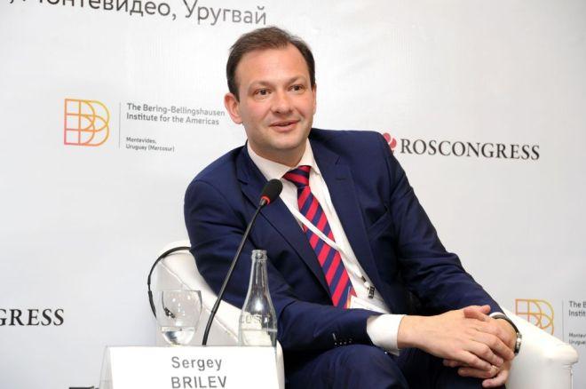 Тележурналист Сергей Брилёв