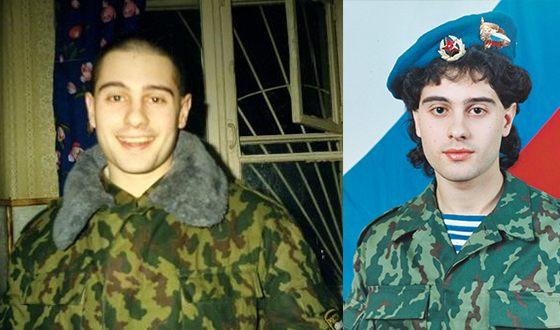 Антон Макарский в армии