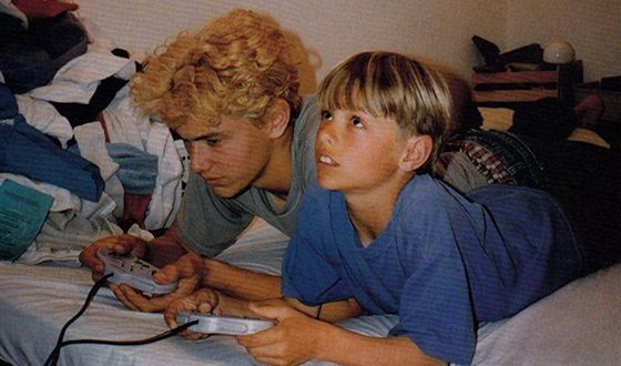 Джеймс Франко и его младший брат Дэйв