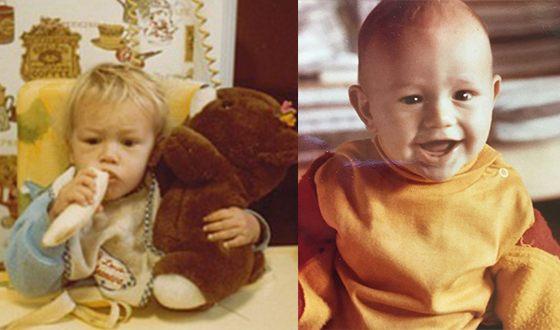 Джеймс Франко в детстве