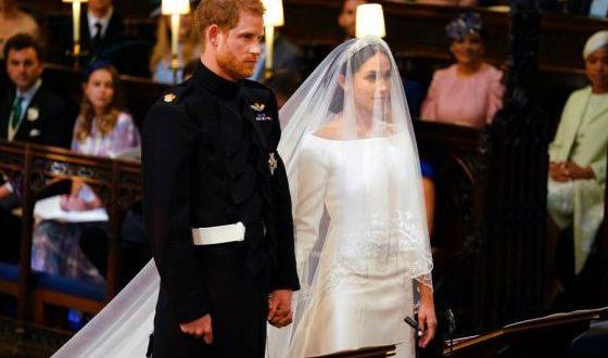 Свадебные наряды Меган Маркл и принца Гарри