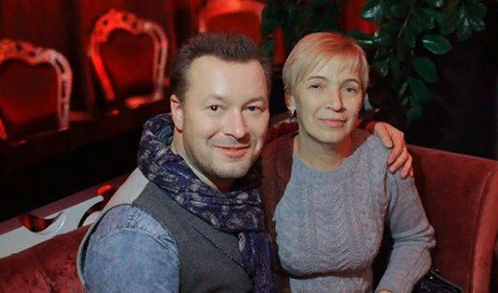 Виктор Петлюра с мамой