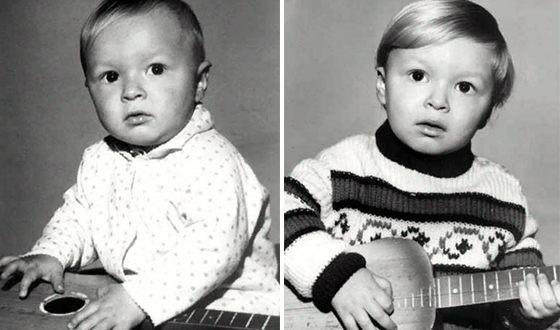 Виктор Петлюра в детстве
