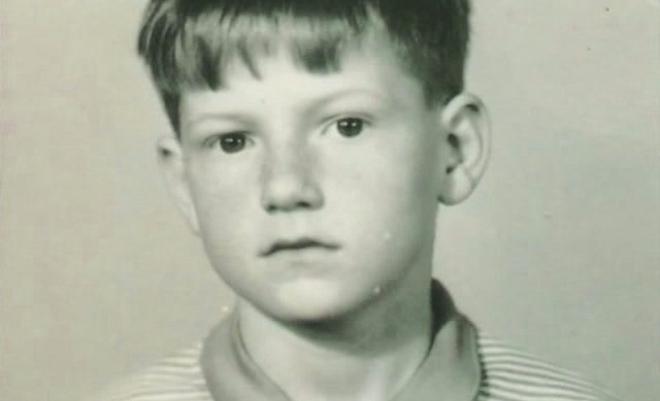 Виталий Гиберт в детстве
