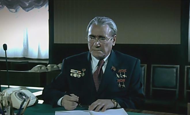 Сергей Шакуров в роли Брежнева