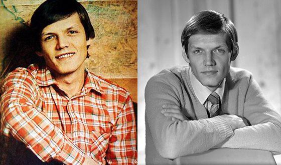 Александр Галибин в молодости