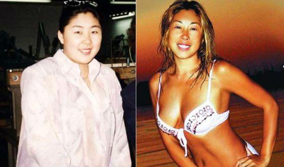Анита Цой в молодости и сейчас