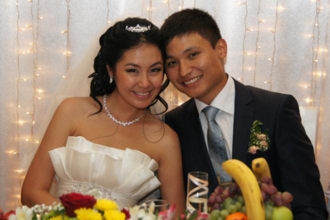 Азамат Нигманов с женой