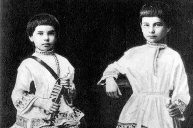 Петр Столыпин в детстве