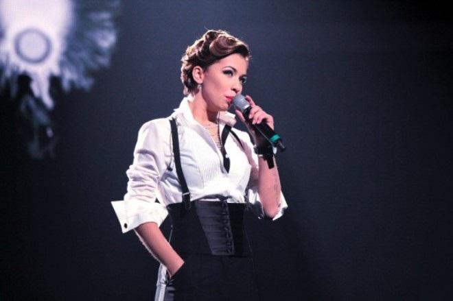 Юлия Плаксина на сцене