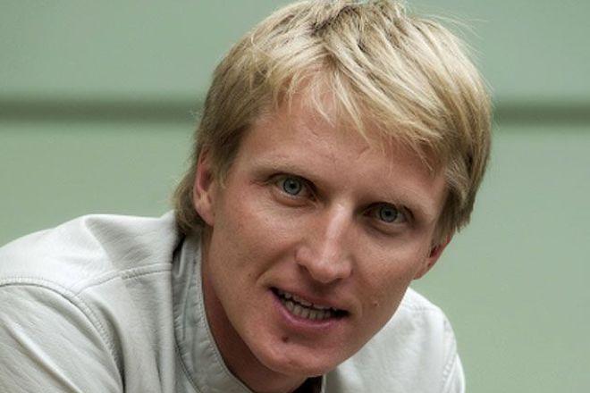 Конькобежец Иван Скобрев