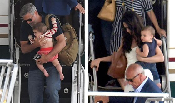 Дети Джорджа Клуни