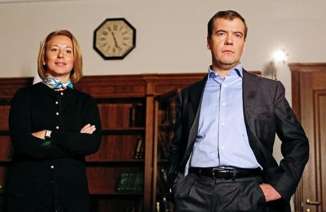 Дмитрий Медведев и Наталья Тимакова