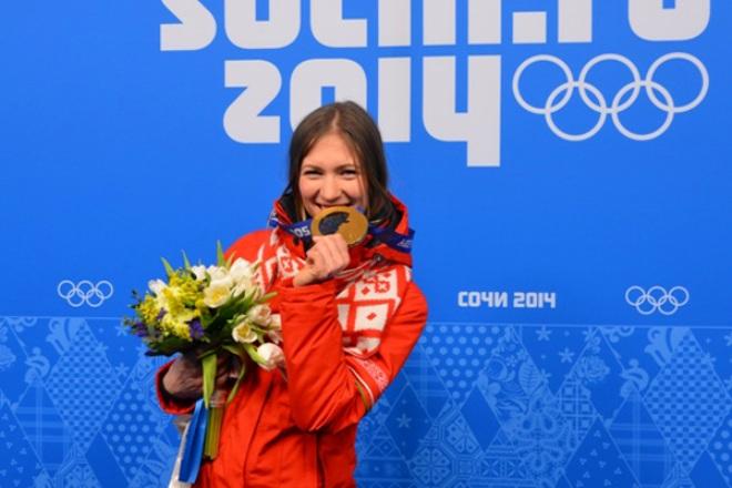 Дарья Домрачева на Олимпиаде в Сочи