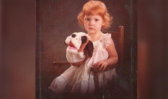 Джессика Честейн в детстве