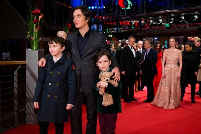 Киллиан Мерфи с сыновьями