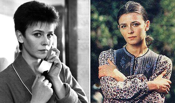 Елена Сафонова в молодости
