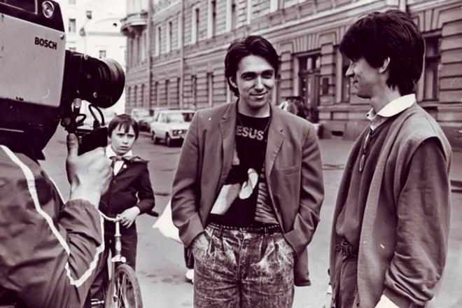 Сергей Курехин и Сергей Шолохов