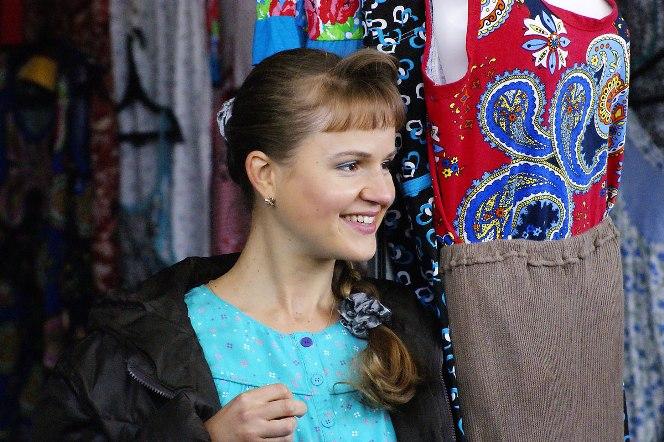 Екатерина Травова в сериале «Челночницы»