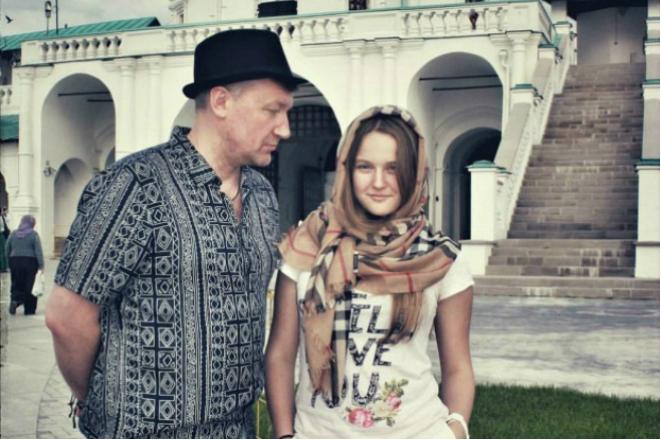 Вадим Панов с дочерью