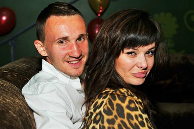 Алексей Козлов с женой