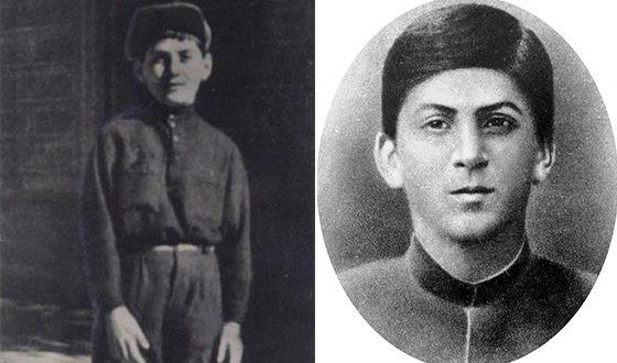 Сосо Джугашвили (Иосиф Сталин) в юные годы