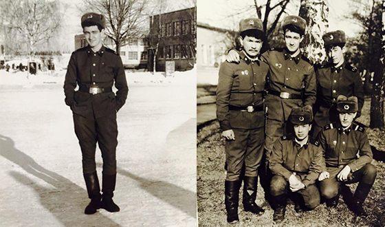 Константин Юшкевич в армии