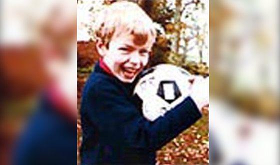 Крис Мартин в детстве