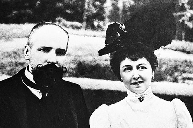 Петр Столыпин с женой