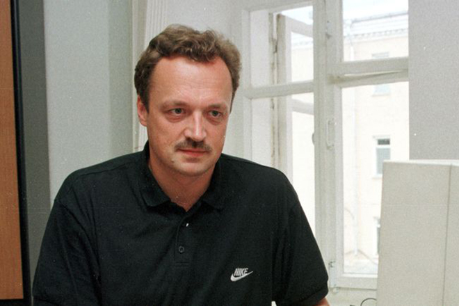 Виктор Гусев в молодости