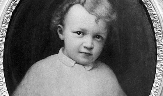 Маленький Володя Ульянов