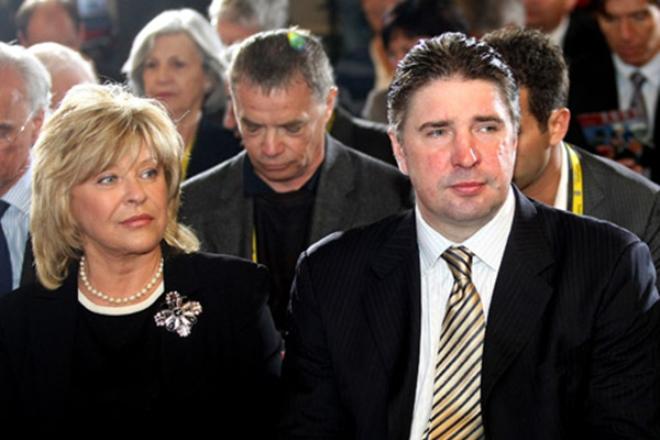 Алексей Касатонов с женой
