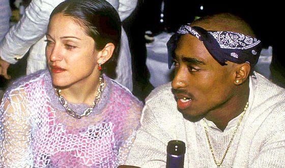 Мадонна встречалась с Тупаком. В 1996 году рэпера застрелили