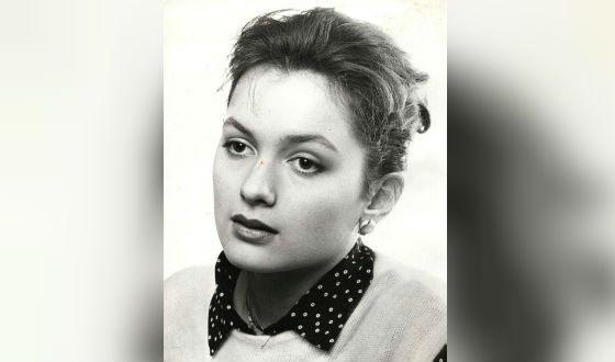 Мария Порошина в молодости
