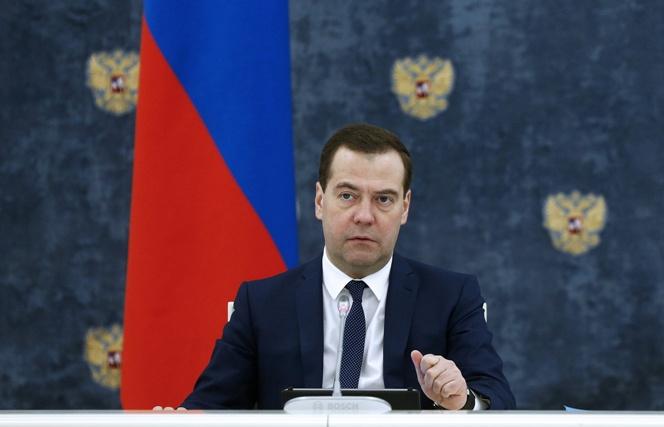 Дмитрий Медведев на посту премьер-министра РФ