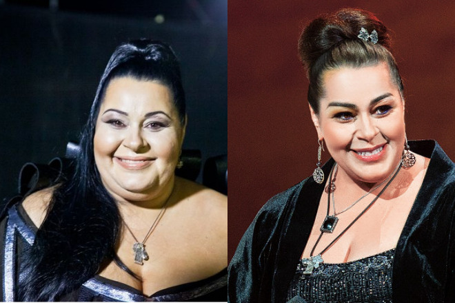 Мариам Мерабова до и после похудения