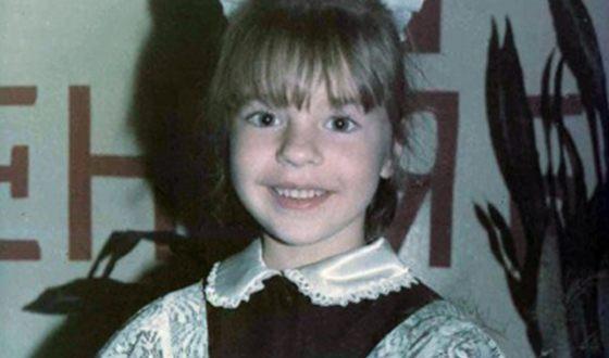 Наталья Подольская в детстве