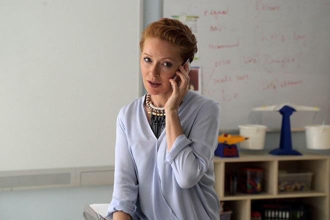 Наталья Рогожкина на съемках фильма