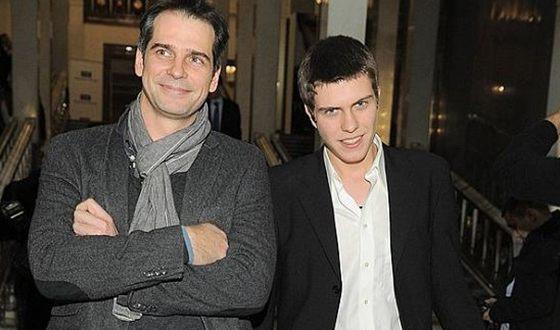 Павел Делонг с сыном