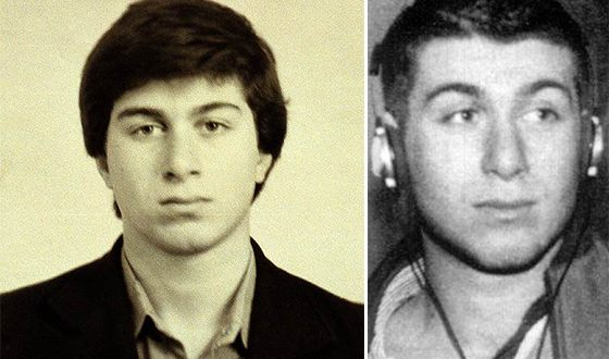 Роман Абрамович в молодости
