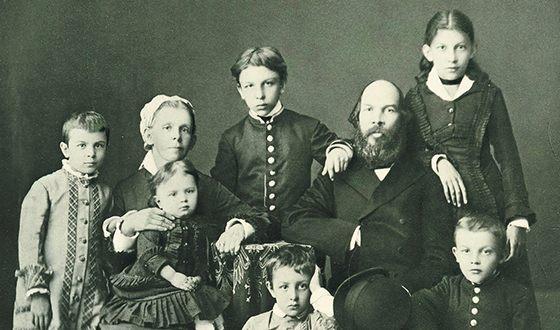 Семья Ульяновых (1879 год)