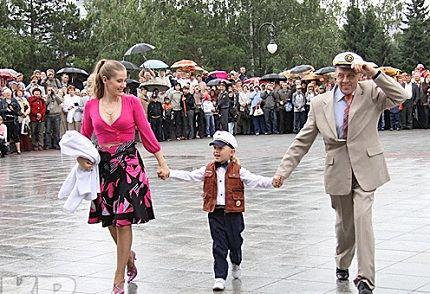 С Ириной Линдт и их общим сыном Ваней
