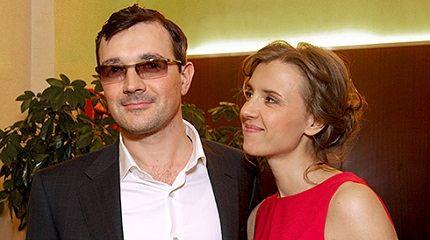 С мужем Егором Бероевым